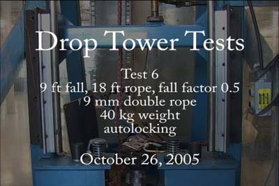 Universal Belay Device Drop Tower Test 5 320x240 Mpg